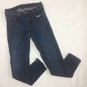 Zara basic stretchy skinny 8